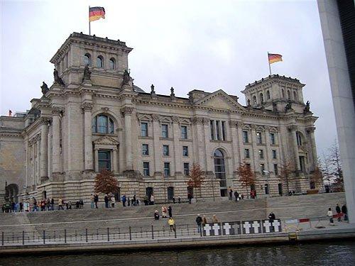 Reichstag - Reichstagsgebaeude in Berlin