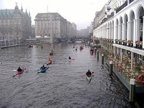 Hamburg - Alster-Grachten-Verbandsfahrt 2007