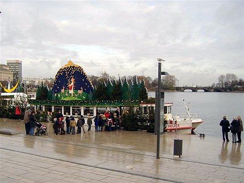 Weihnachten - Maerchenschiffe auf der Hamburger Alster