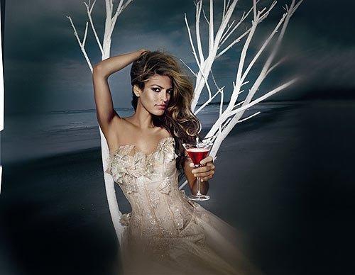 Die amerikanisch-kubanische Schönheit Eva Mendes
