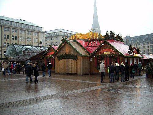 Weihnachtsmarkt Hamburg - Weihnachten 2007