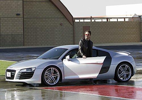 Iron Man und Audi R8