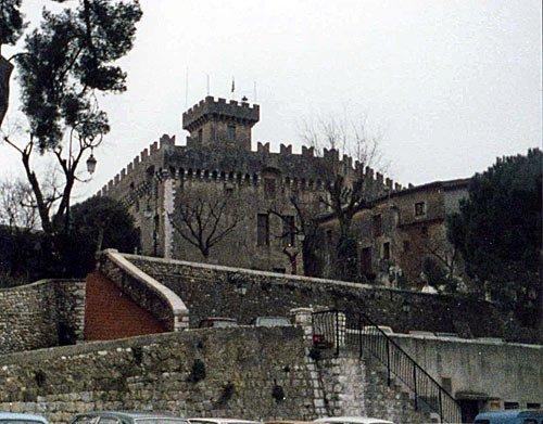 Côte d'Azur - Burg in Antibes