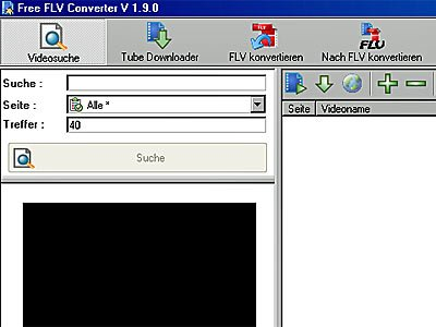 FLV (Flash) Videos umwandeln in AVI und MPEG