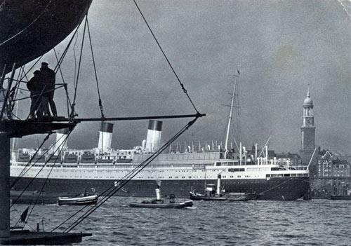 Der Hamburger Hafen um 1939