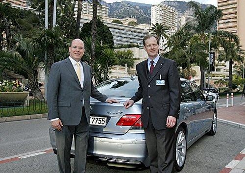 Monaco - Umweltmesse EVER - BMW Hydrogen 7