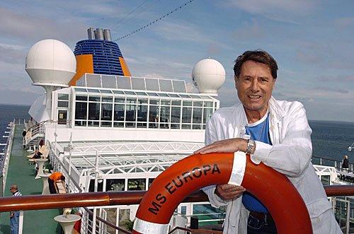 Udo Juergens zu Gast auf der MS EUROPA