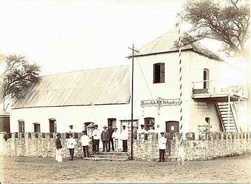 Deutsch-Suedwestafrika - Namibia - Kaiserliche Ortspolizei