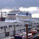 AIDAbella Hamburger Hafen