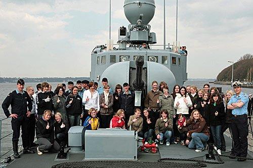 Girls Day bei der Marine