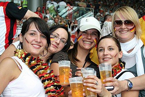 Fussball Fans bei der EM 2008