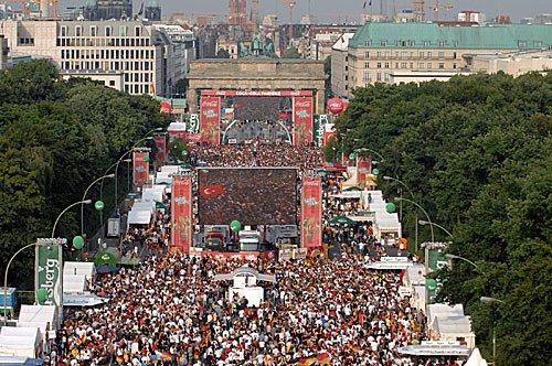 Fussball EM 2008 - Fanfest Berlin