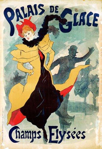 Jules Chéret - Jugendstilplakat Palais de Glace