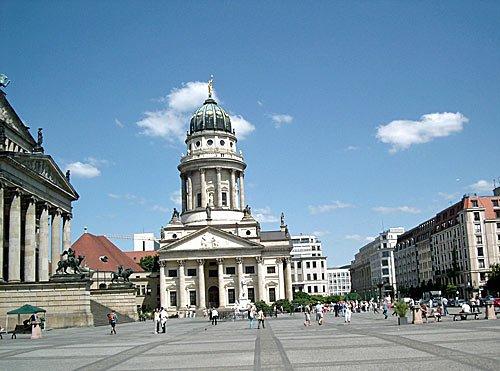Berlin - Franzoesische Kirche am Gendarmenmarkt