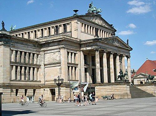 Berlin - Konzerthaus am Gendarmenmarkt