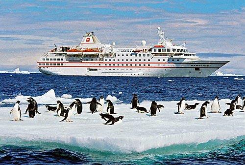 Kreuzfahrtschiff MS HANSEATIC