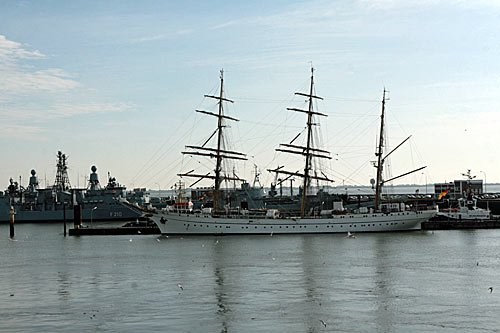 Gorch Fock in Wilhelmshaven