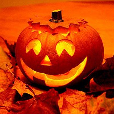 Ein schöner Halloween Kürbis