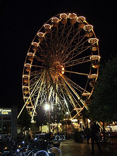Stadtfest in Jever - Riesenrad