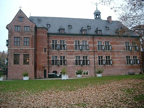 Schloss Reinbek bei Hamburg im Herbst