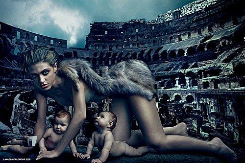 Lavazza Kalender - Kunst aus Italien