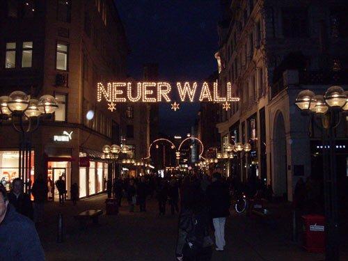 Weihnachtsbeleuchtung - Weihnachten Hamburg