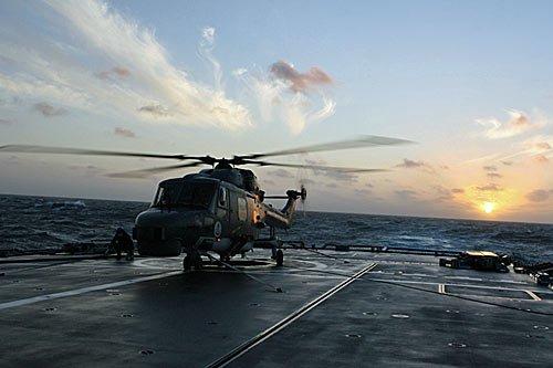 Marine Hubschrauber Sea Lynx
