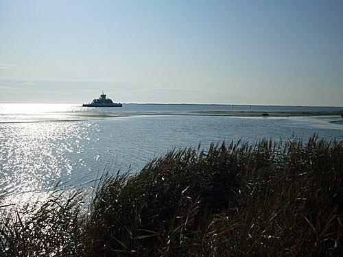 Insel Fanoe in Daenemark an der Nordsee