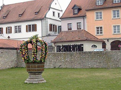 Ostern - Osterbrunnen
