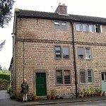 Häuser der Arbeiter von Cromford Mills