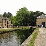 Kanal über den die Baumwolle gebracht wurde
