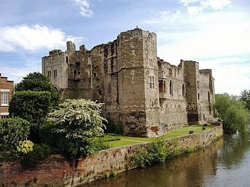 Newark Castle in England