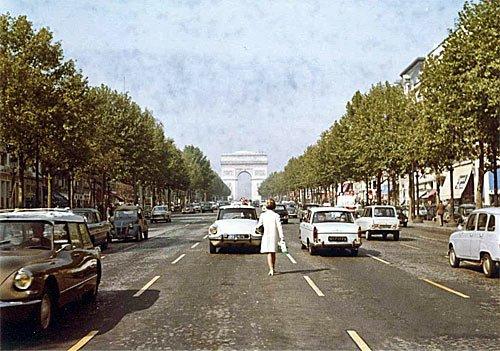 Paris Frankreich - 60er-Jahre