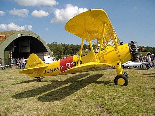 Propeller Flugzeug US-Navy