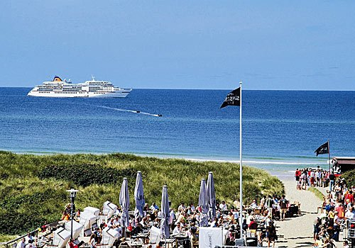 Sylt - Kreuzfahrtschiff MS-Europa