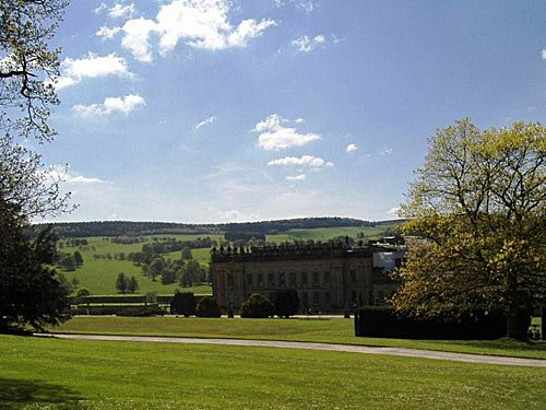 Chatsworth House in England