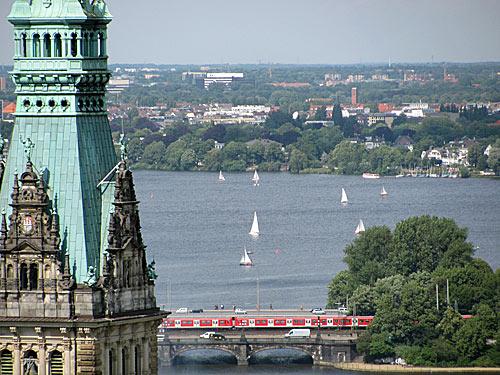 Alster in Hamburg