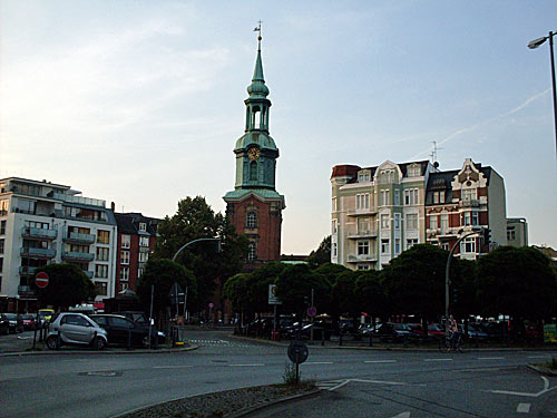 Kirche in Hamburg St. Georg