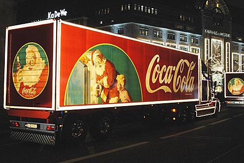 Santa Claus Truck