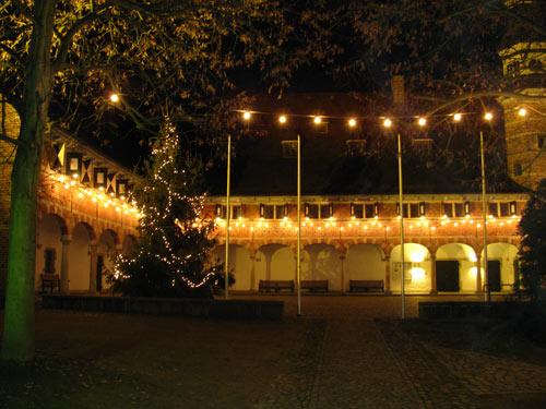 Weihnachtsbaum Schloss Reinbek