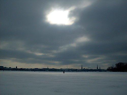 Alster - Hamburg im Winter
