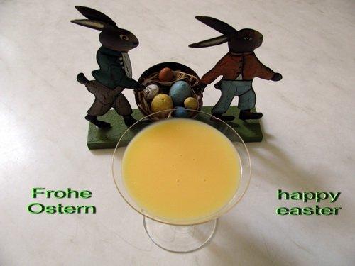 Frohe Ostern Eierlikoer
