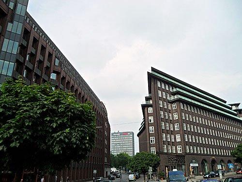 Bauer Verlag, Chilehaus, SPIEGEL-Verlag in Hamburg