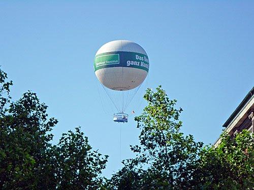 Heißluftballon Hamburger Abendblatt