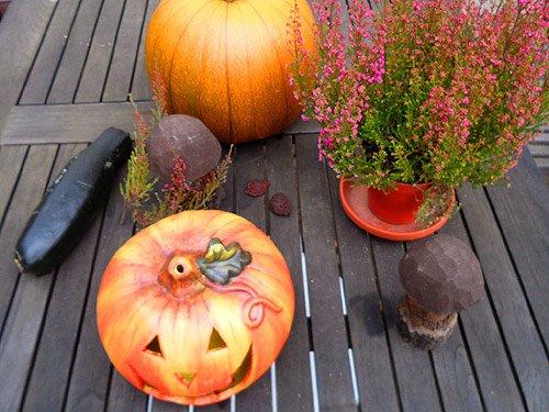 Happy Halloween - Kuerbis Bild