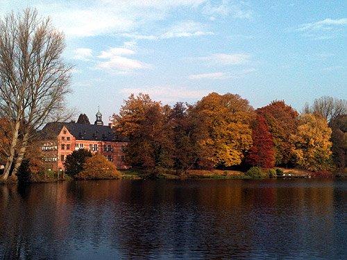 Herbst Bilder Schloss Reinbek