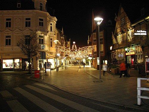 Weihnachtsbeleuchtung Bergedorf