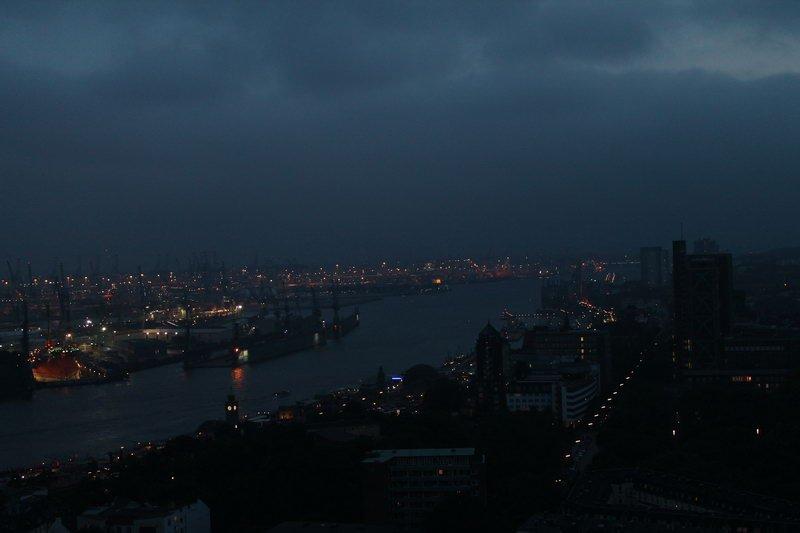 Hamburg Hafen Nacht