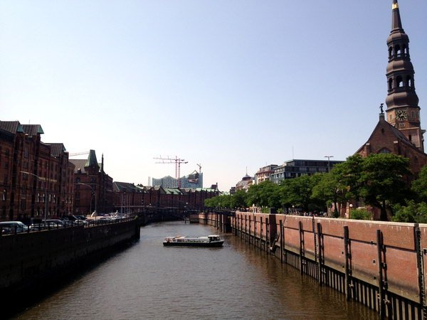 Hamburg Zollkanal
