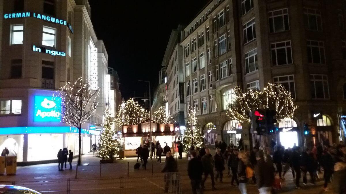 Spitalerstraße Weihnachtsmarkt